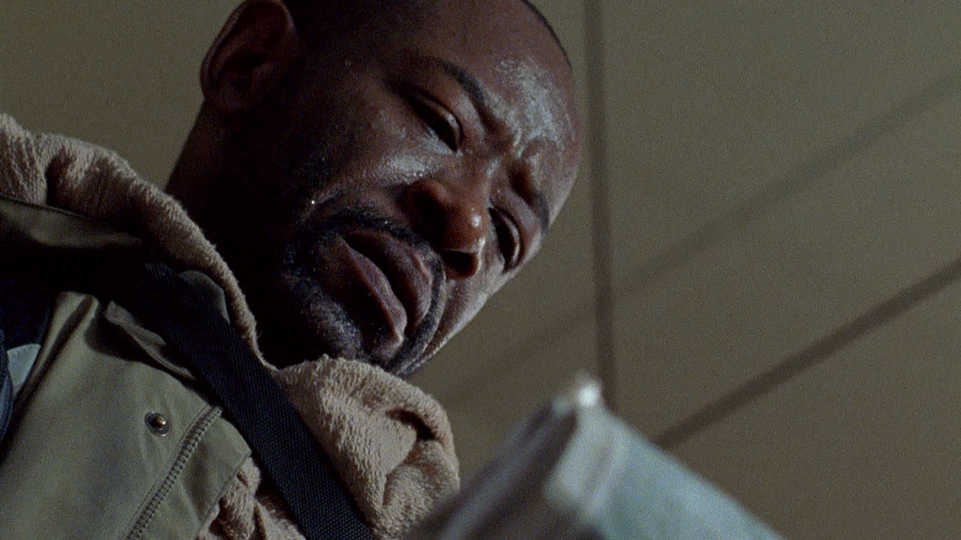 Image result for morgan the walking dead crying
