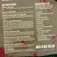 The Walking Dead - Zombie Make-Up Tips for Halloween