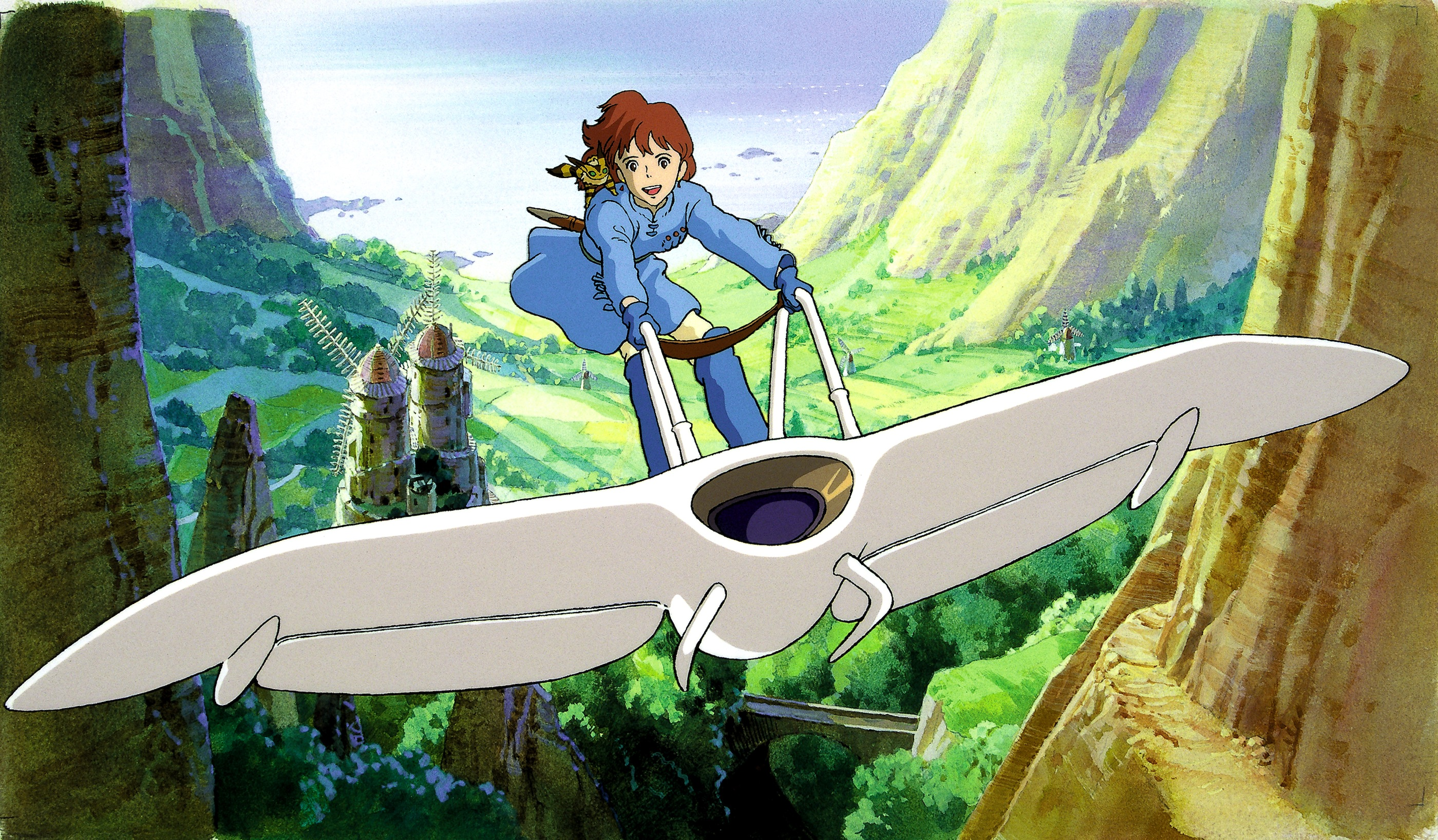 Image result for nausicaa of the valley of the wind