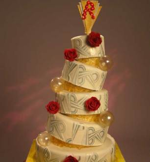 Amazing Wedding Cakes     Cake Alchemy     WE tv Art Deco