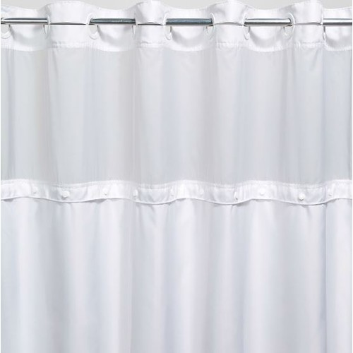 registry hook free replacement shower curtain liner white 70 x 54