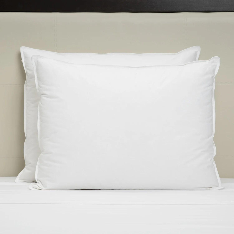 impressence 50 50 down feather pillow 20 x 36 31 oz