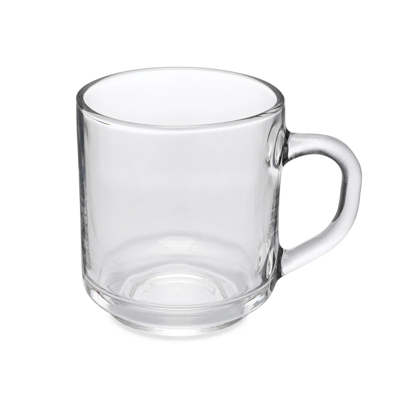 registry coffee mugs clear 10 oz