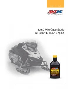 Amsoil 3,469 Mile Case Study in Rotax® E-TEC® Engine