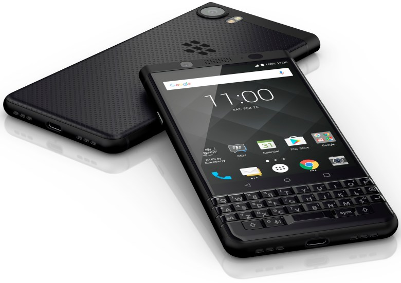 Image result for blackberry keyone black