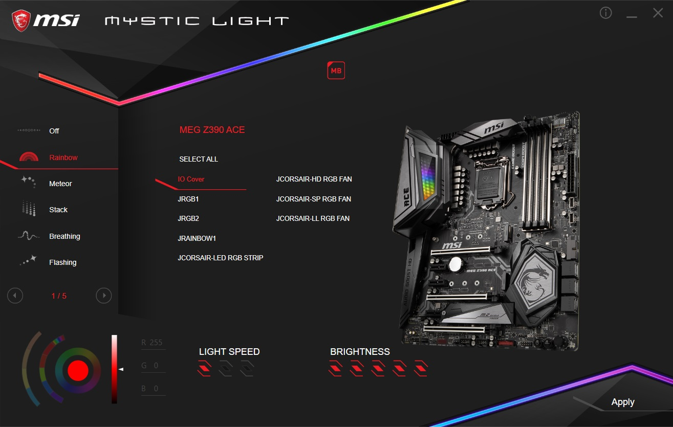 The MSI MEG Z390 ACE Motherboard Review: The Answer To Your