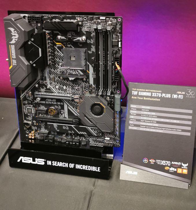 ASUS TUF Gaming X570-Plus and TUF Gaming X570-Plus Wi-Fi Motherboards