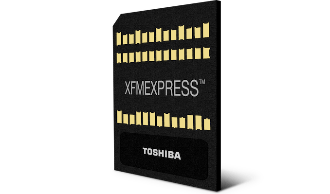 Toshiba Introduces New Tiny NVMe SSD Form Factor