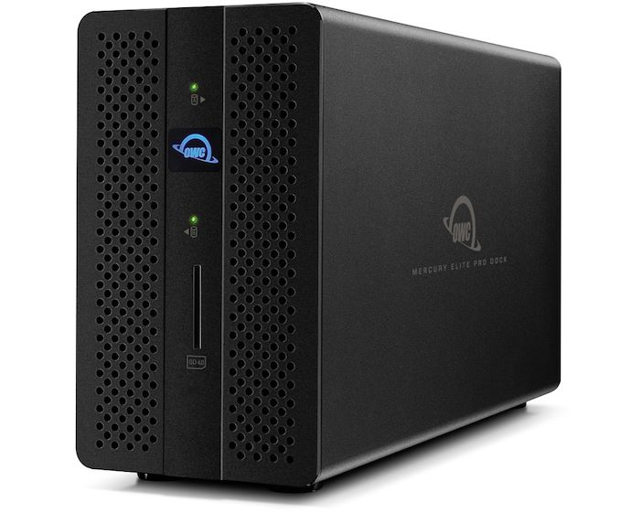 OWC Mercury Elite Professional Dock / DAS Combo: TB3, as much as 28 TB, USB 3.0, DP, GbE, SD