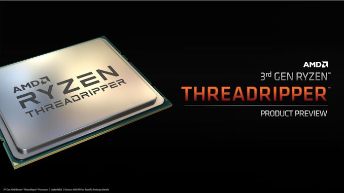 AMD This fall: 16-core Ryzen 9 3950X, Threadripper Up To 32-Core 3970X, Coming November 25th