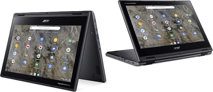 Acer Launches Rugged Chromebook Spin 311: An 11.6-Inch AMD A4-Based 2-in-1