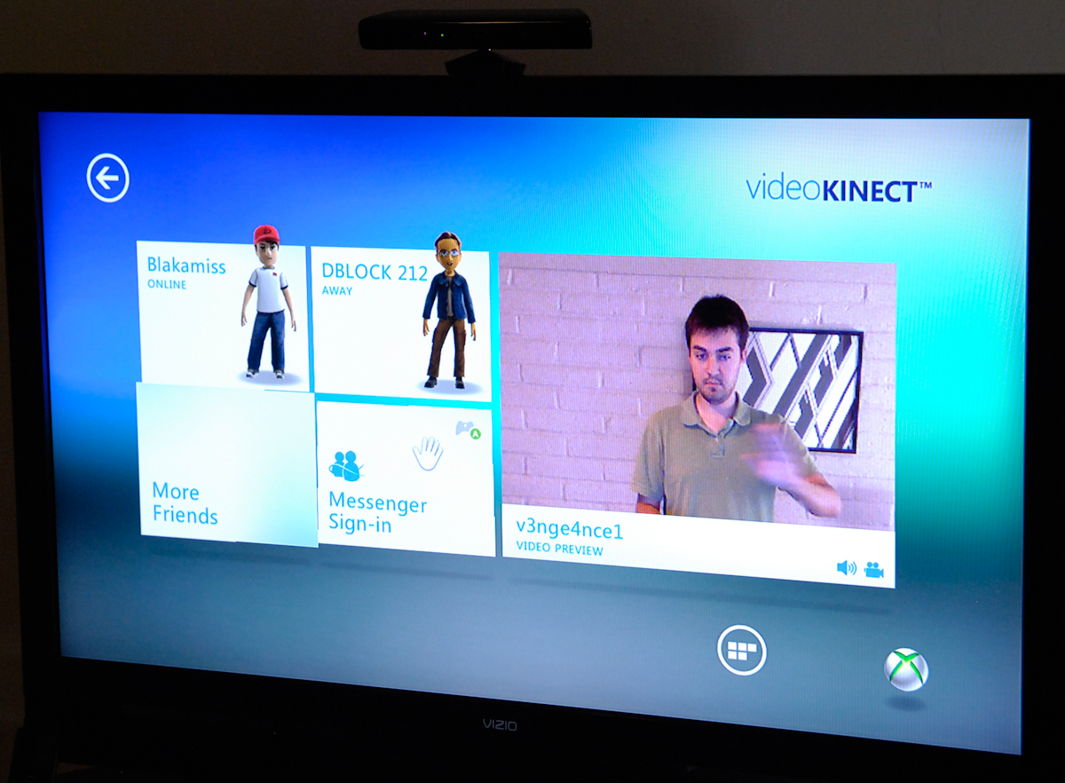 Video Kinect Microsoft Kinect The AnandTech Review