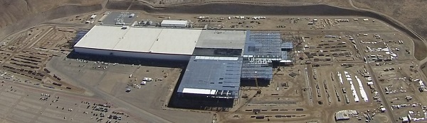 tesla gigafactory construction