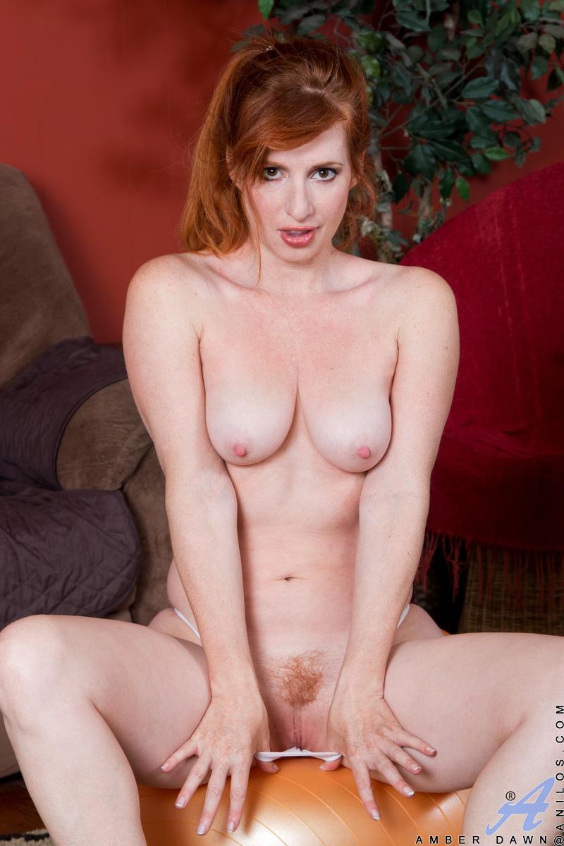 Anilos.com - Amber Dawn: Natural Redhead