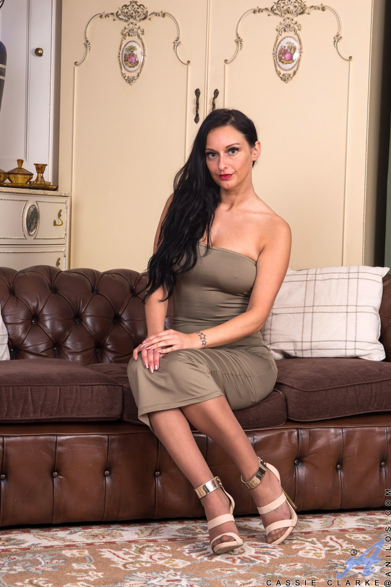 Anilos.com - Cassie Clarke: Tight Dress