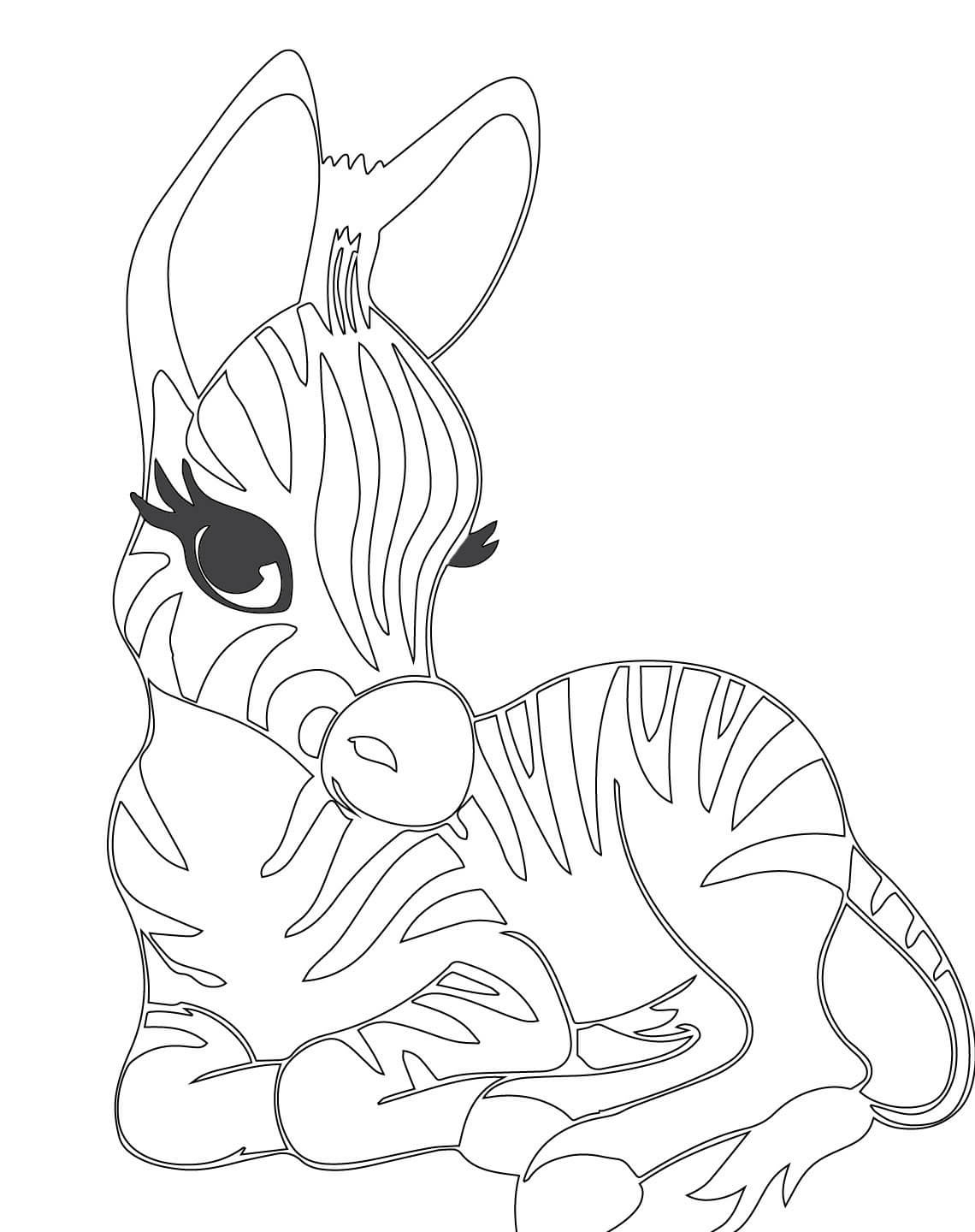 baby zebra coloring pages coloring pages of baby zebras coloring
