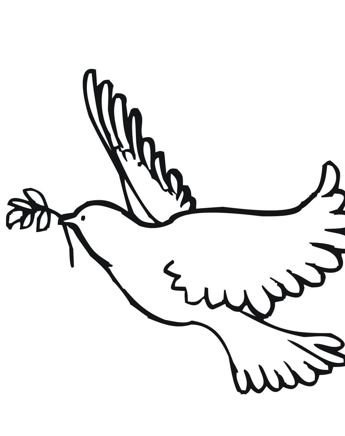 file name peace dove coloring page jpg resolution 1200 x 1600