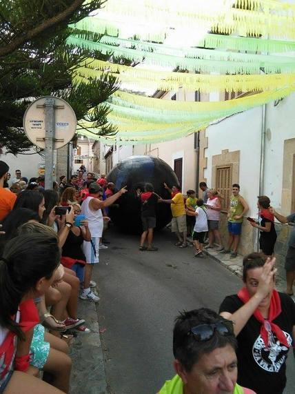 Mallorca Sense Sang pide unas fiestas sin tortura animal en Fornalutx