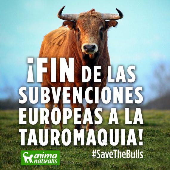 ¡Victoria histótica! ¡FIN de las subvenciones europeas a la tauromaquia!