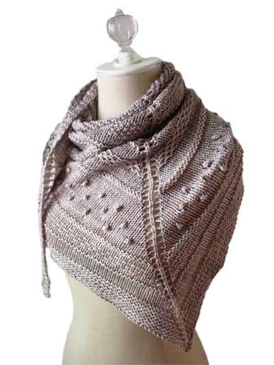 Texelle Shawl Knit Pattern