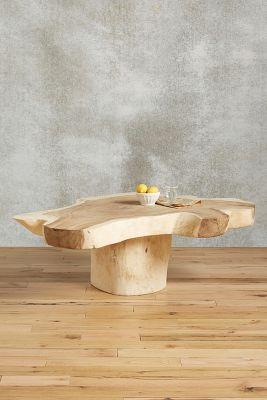 Live Edge Coffee Table Anthropologie