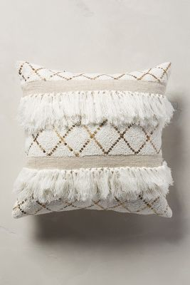 Moroccan Wedding Pillow Anthropologie