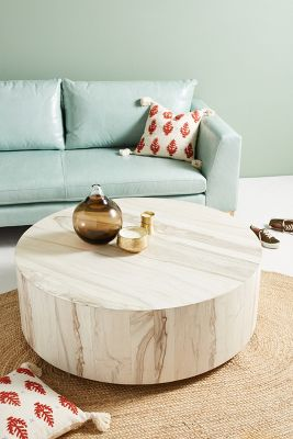 Printed Ottoman Coffee Table