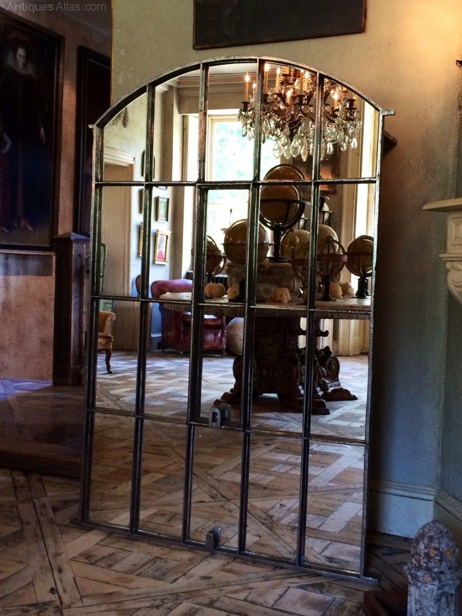 Antiques Atlas - Factory Reclaimed Vintage Window Mirror