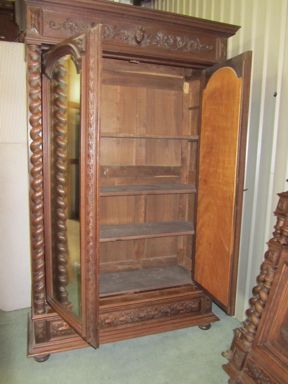 French Carved Oak Bedroom Set Antiques Atlas