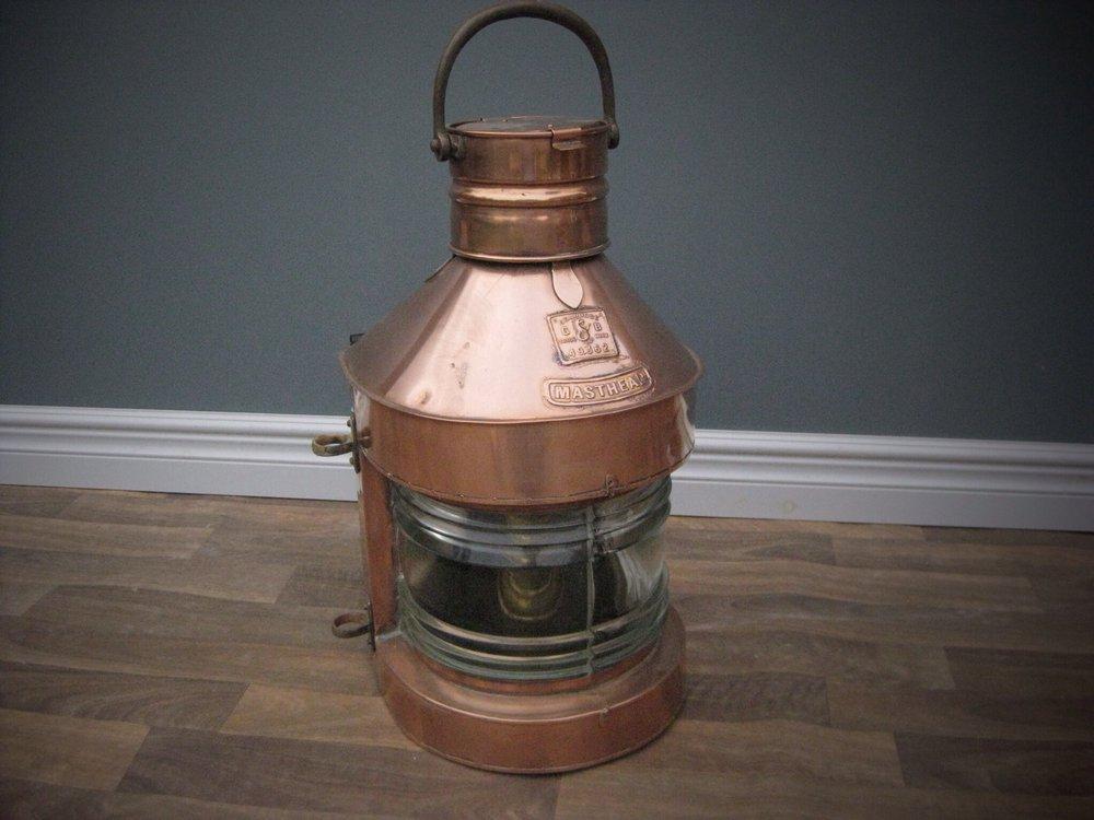 Antiques Atlas Vintage Ships Masthead Lamp