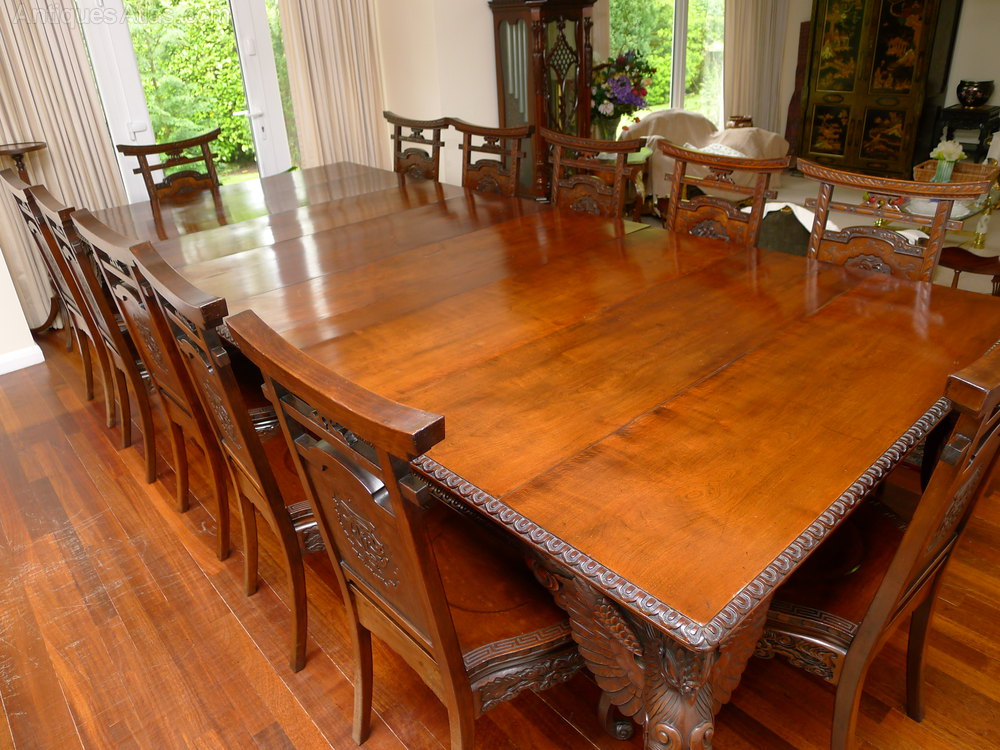 Quality 19th C Japanese Dining Table And Chairs Antiques Atlas