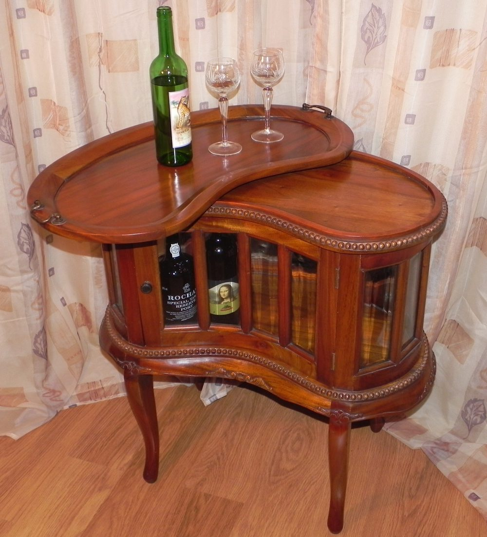 Antiques Atlas Mahogany Wine Drinks Cabinet Amp Tray