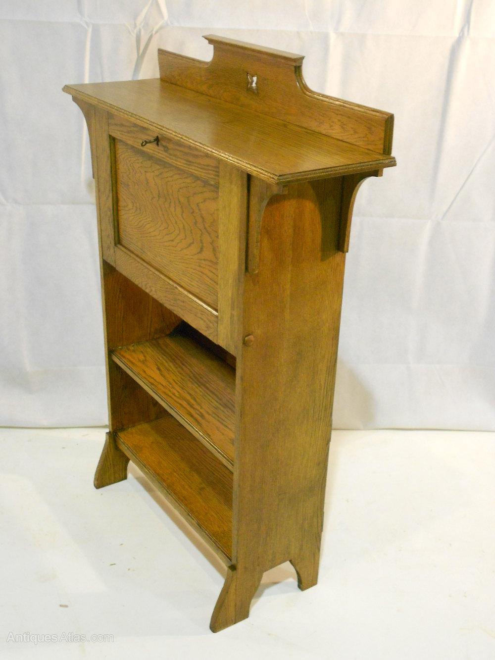 Harris Lebus Arts Amp Crafts Oak Bureau Model No901b
