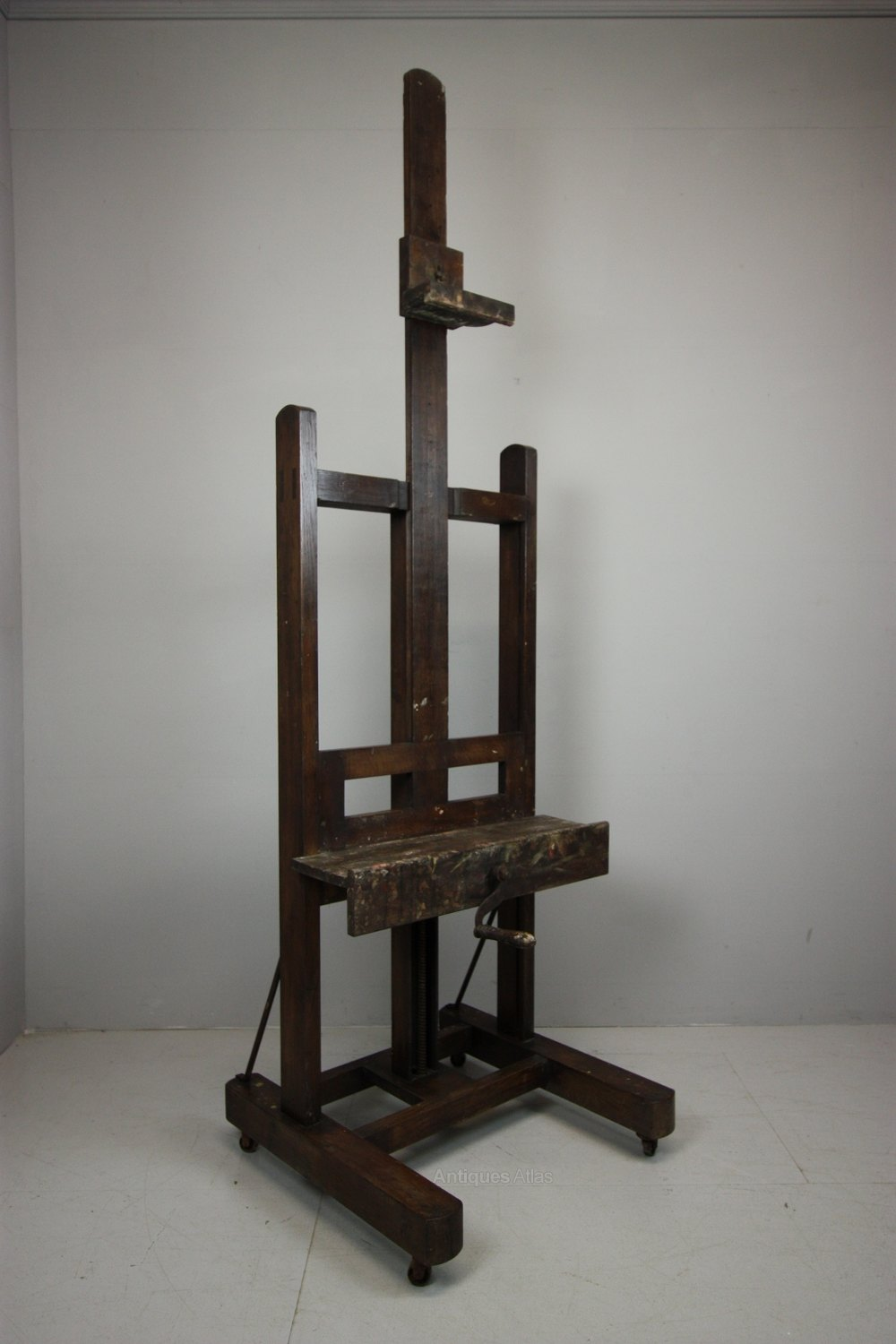 19th Century Antique Oak Artist Easel Antiques Atlas