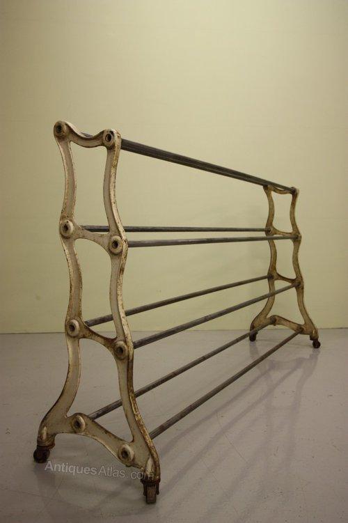 19th century industrial antique iron