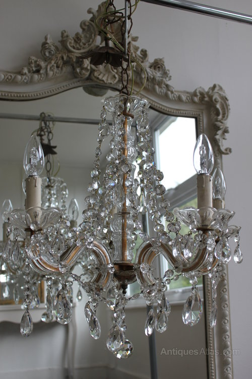 Marie Therese 5 Arm French Chandelier
