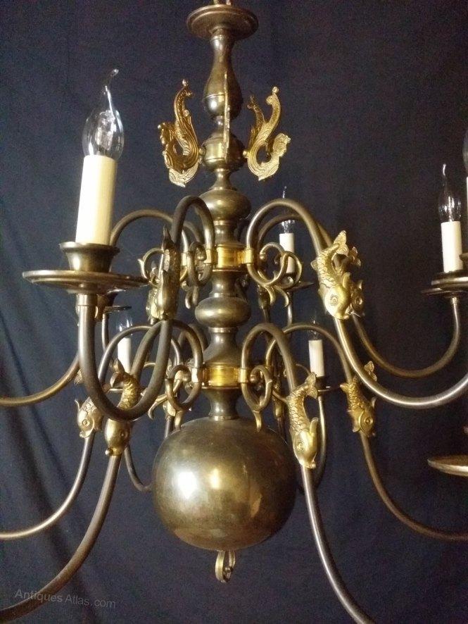 Photos Antique Flemish Chandelier