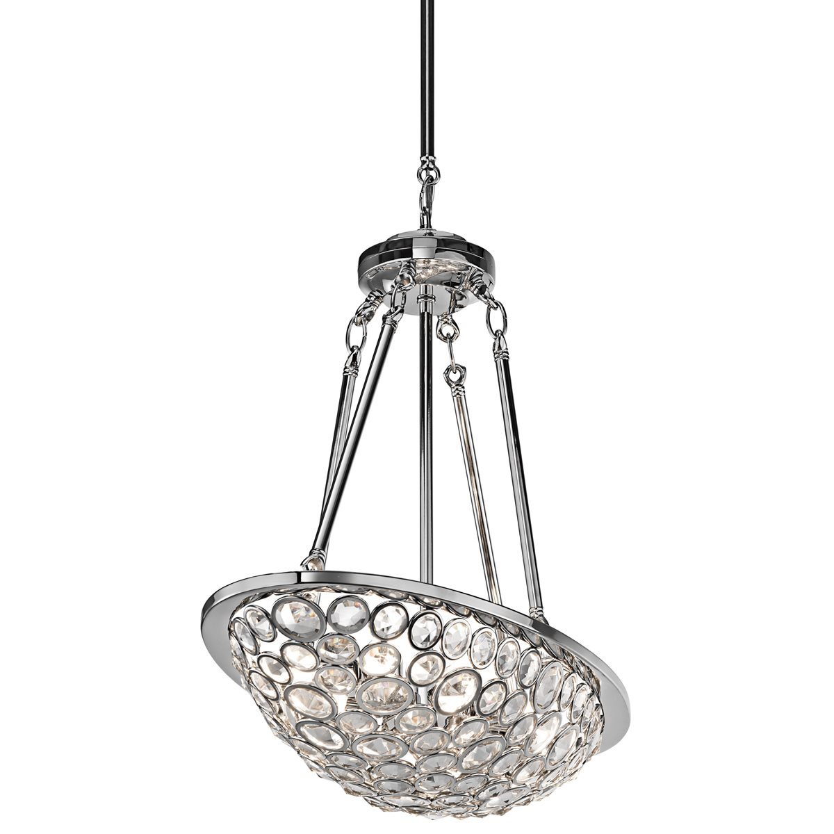 Liscomb Modern Contemporary Oval Chandelier