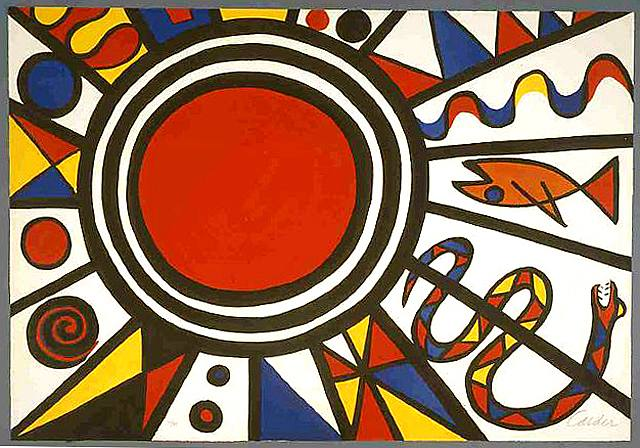 Alexander Calder, Environment and Evolution- Creation