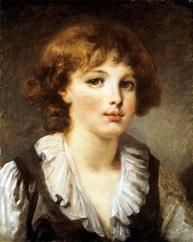 Jean Baptiste Greuze, Portrait of a boy