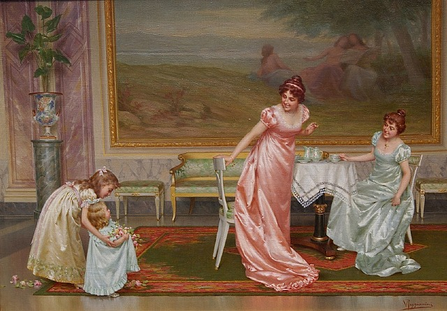 Vittorio Reggianini, The Tea Party