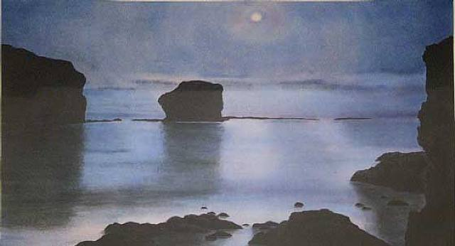 April Gornik, Moon Bay