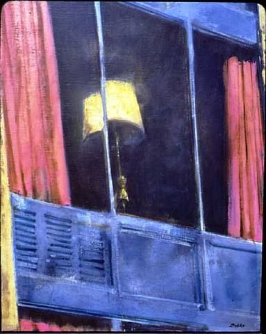 Motel Window - John Barnes Dobbs