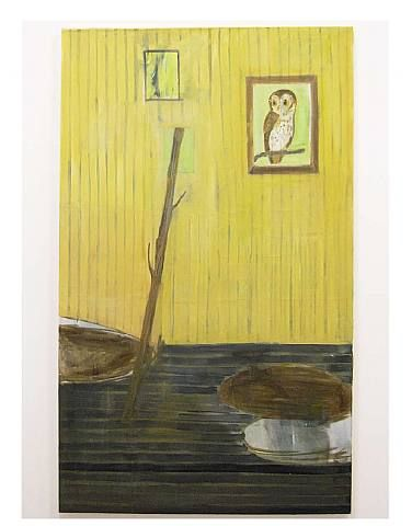 Interior with Stick, Phil Root, 2010