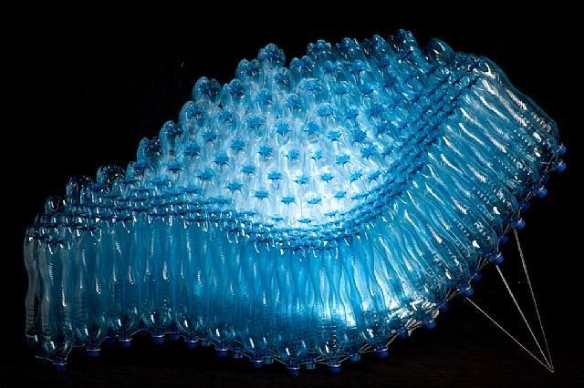 Pawel Grunert: stainless steel and PET bottles