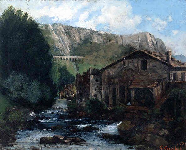 Gustave Courbet, A Mill (399)