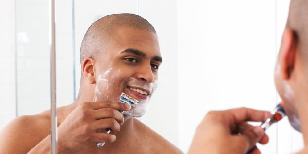 Image result wey dey for Banish the bumps before shaving?