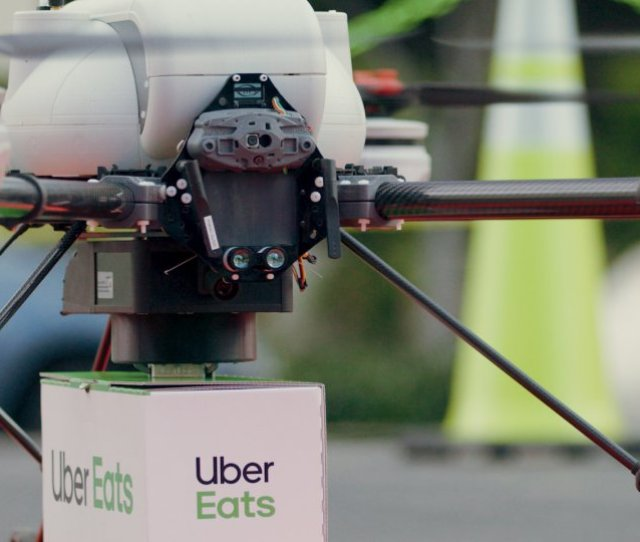 Uber Eats To Use Drones To Deliver Food