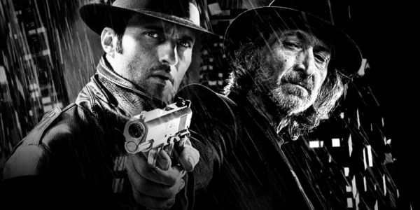 Robert Rodriguez & Frank Miller in Sin City