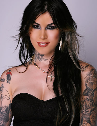 With her raven-colored hair and countless tattoos, the heroine of Miami Ink